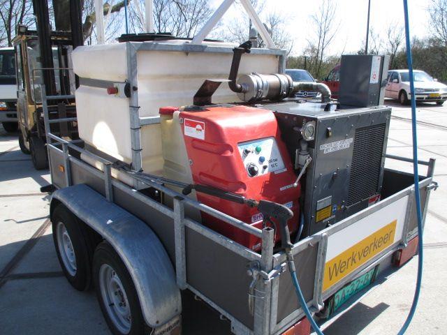 Hapert K3000 INCL ROM HD UNIT, Stoomcleaner Diesel